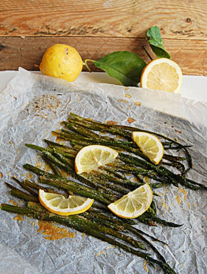 Asparagi Gratinati al Limone