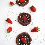 Crostatine al Cioccolato e Fragole
