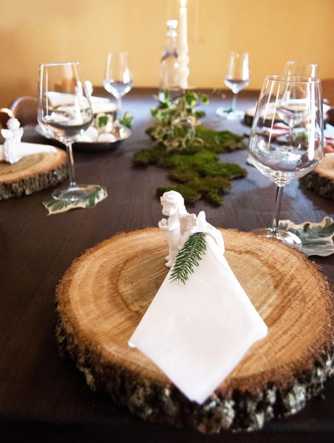 a tavola con il bosco