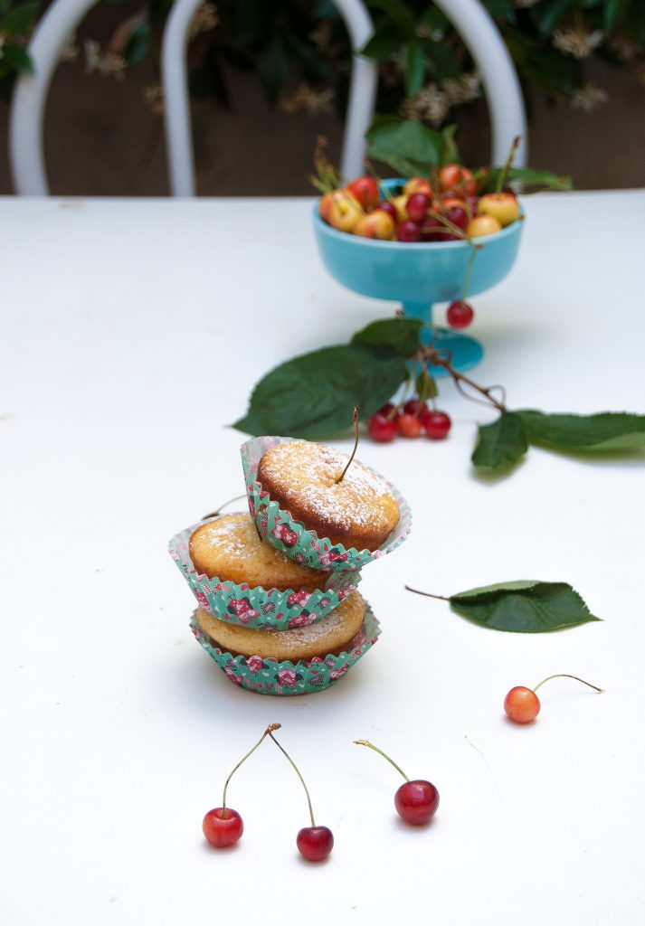 Muffin alla ciliegia 1