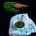 Pesto con Foglie di Carote