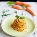 Spaghetti di Kamut al Pesto di Carote e Noci